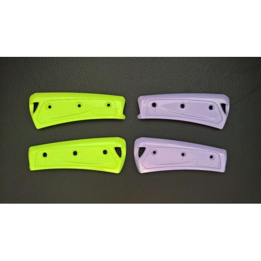 Sets de capots de couleur vert-anis et parme pour harmonicas diatoniques - Yonberg