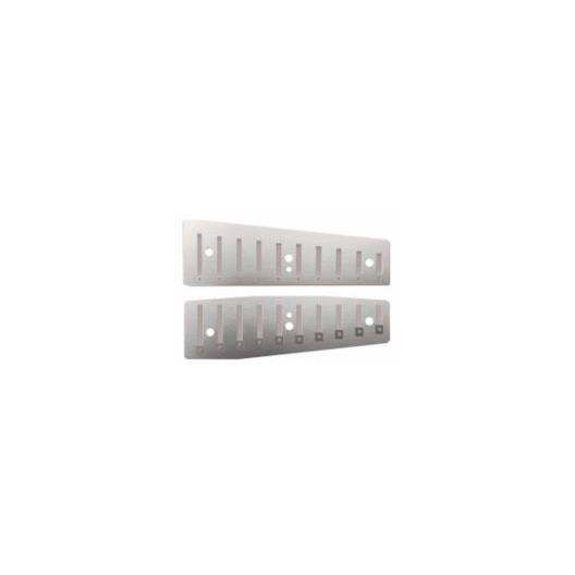 Porte-Lames en bronze pour harmonica diatonique - Yonberg